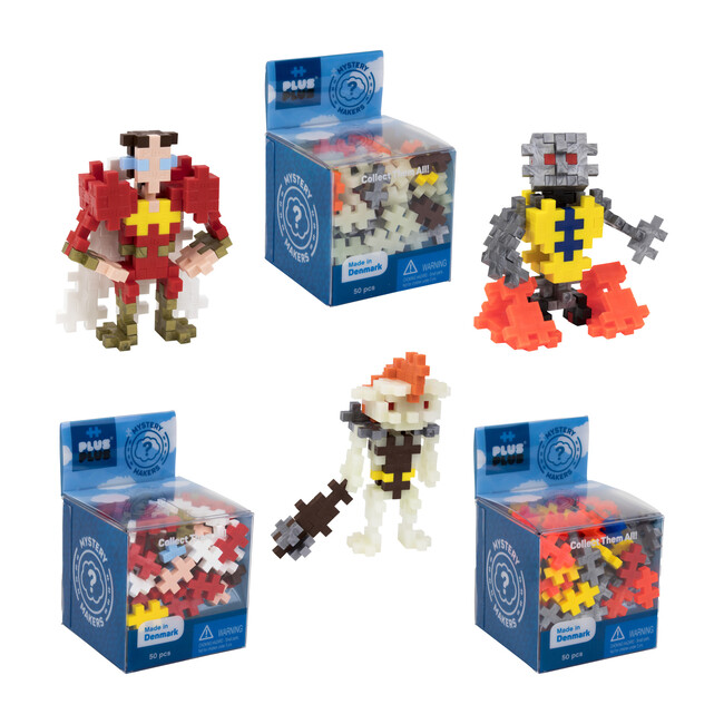 9-Pack Mystery Maker, Robots & More