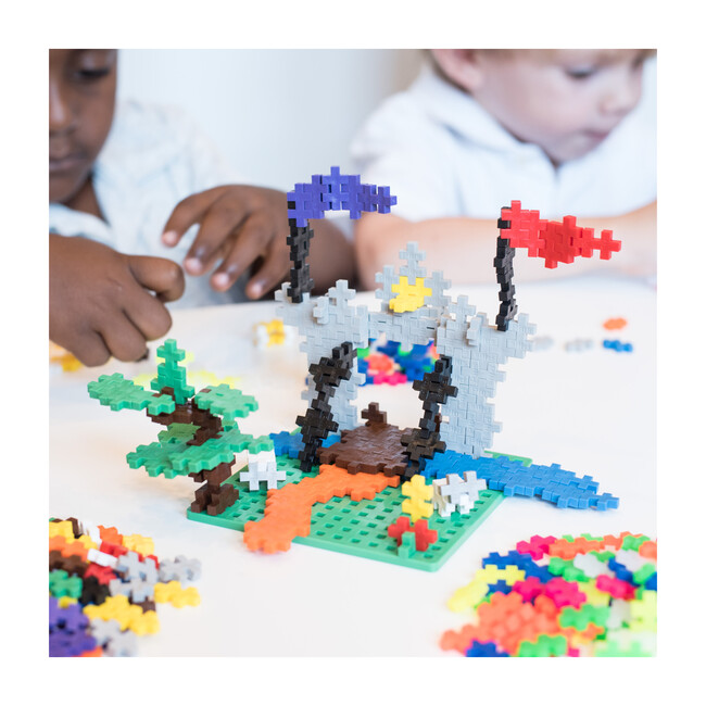 3600-piece All Colors in Tub with 12 Baseplates
