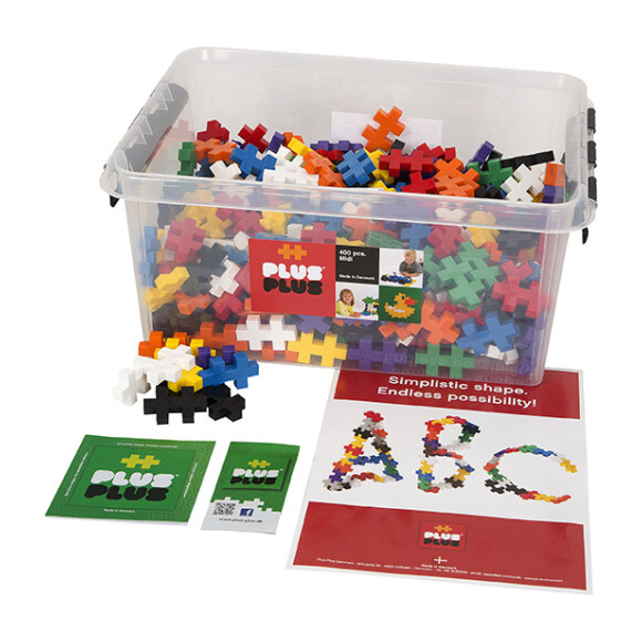 BIG 400-piece Basic Mix in Tub - STEM Toys - 1