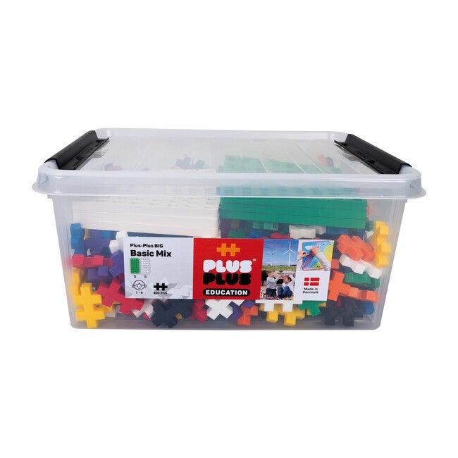 BIG Educational Tub 400 Basic Mix with 10 baseplates