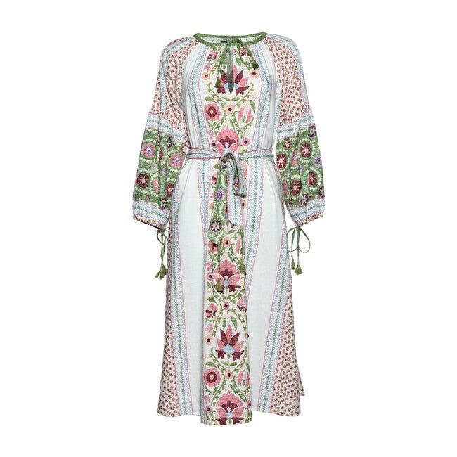 *Exclusive* Women's Caravan Dress, Pink & Green