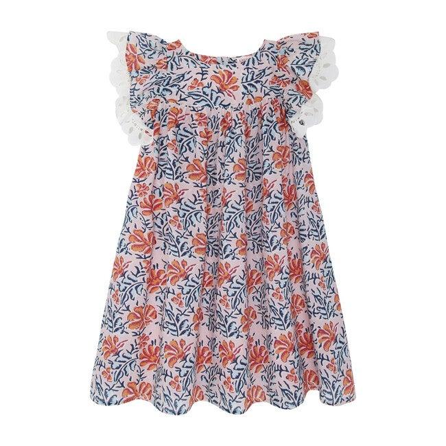 Freesia Short Dress, Pink