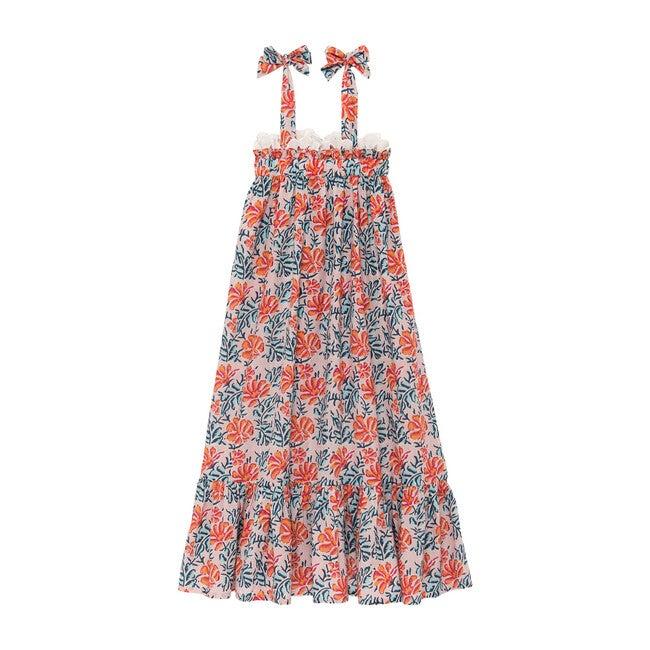 Freesia Long Dress, Pink