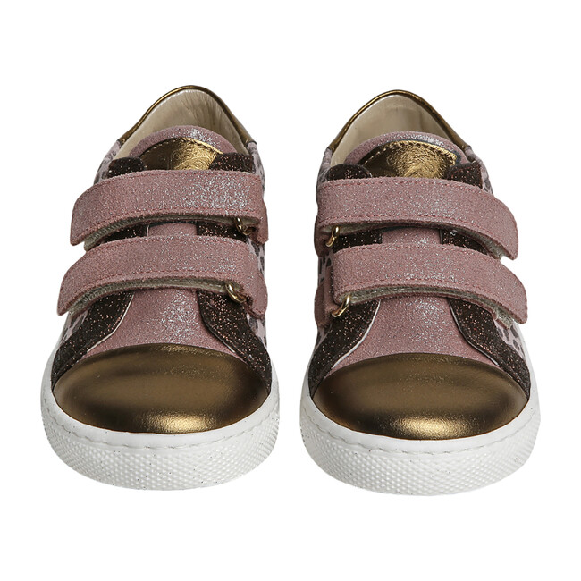 Dorothy Sneaker, Leopard & Pink