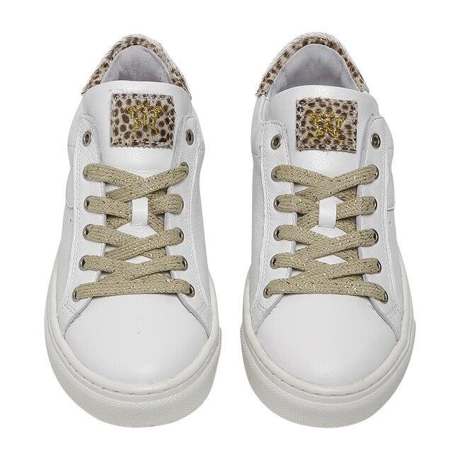Gracie Sneaker, White Leopard
