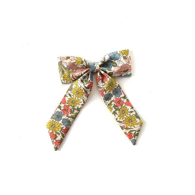Classic Bow Clip, Liberty Mixed Floral