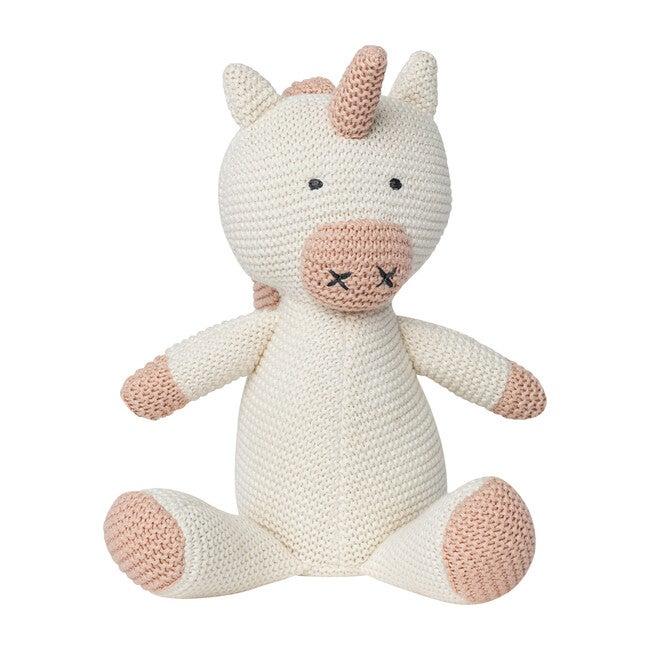 Organic Cotton Classic Knit Unicorn - Plush - 1