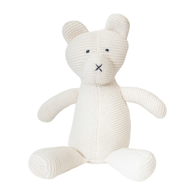 Organic Cotton Classic Knit Bear - Plush - 1 - zoom