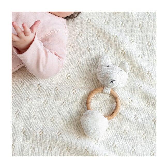 Organic Cotton Bear Rattle