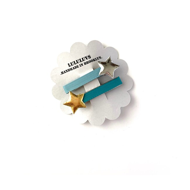 Star Clips, Teal