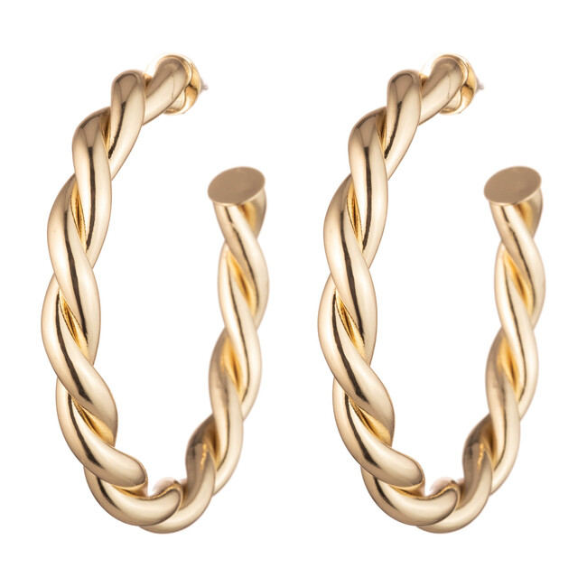 Women's Naomi Earring, Gold