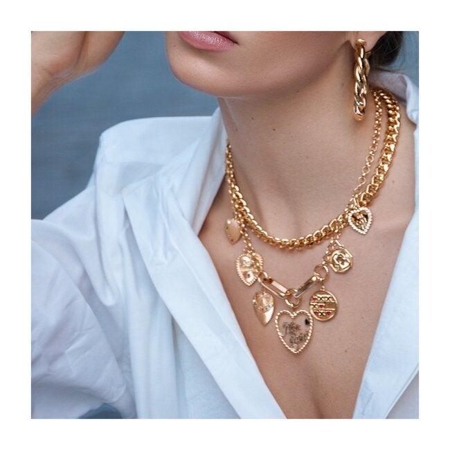 Cassie Necklace, Gold