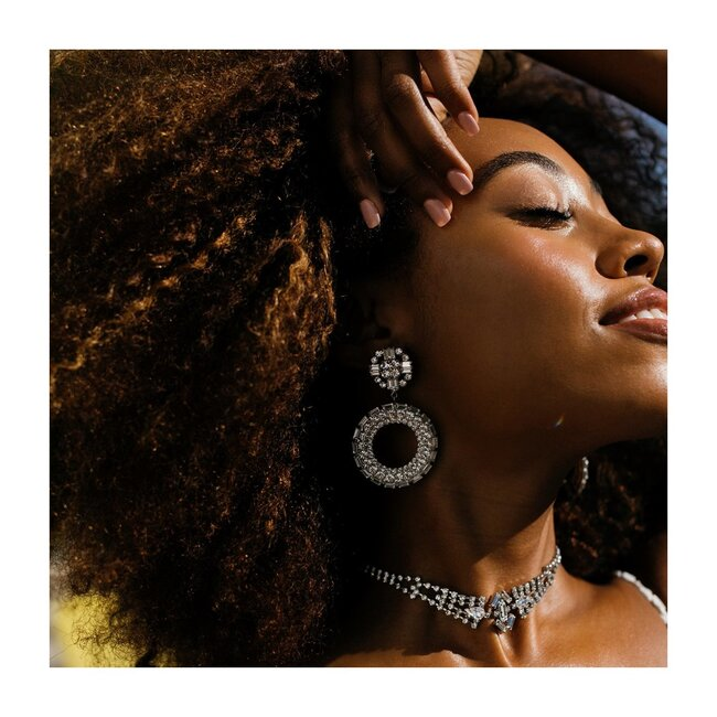 Women's Blake Earring, Crystal
