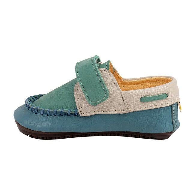 Ocean & Aqua Strap Boat Shoe