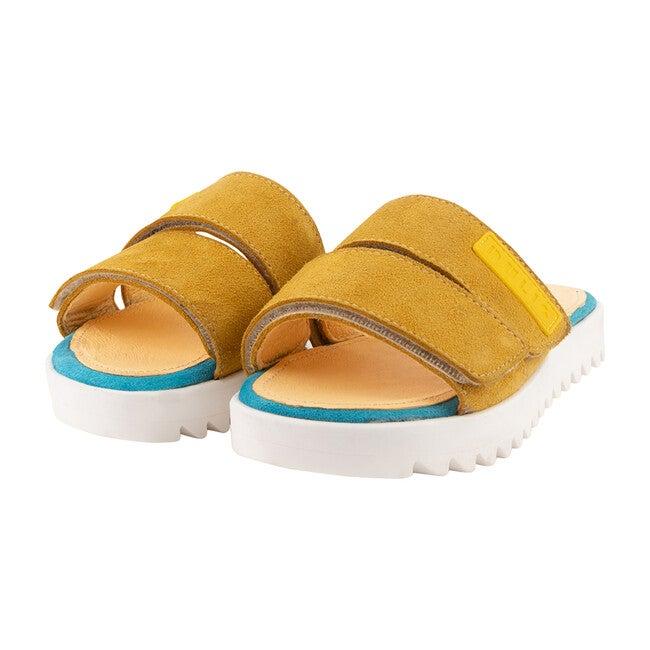 Mustard Strap Pool Sandal
