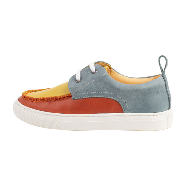Multi-Color Boat Shoe