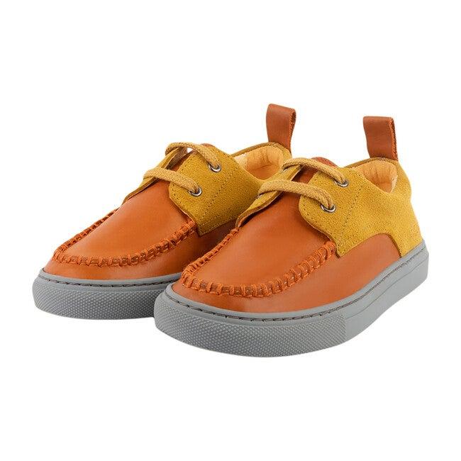 Orange Boat Shoe