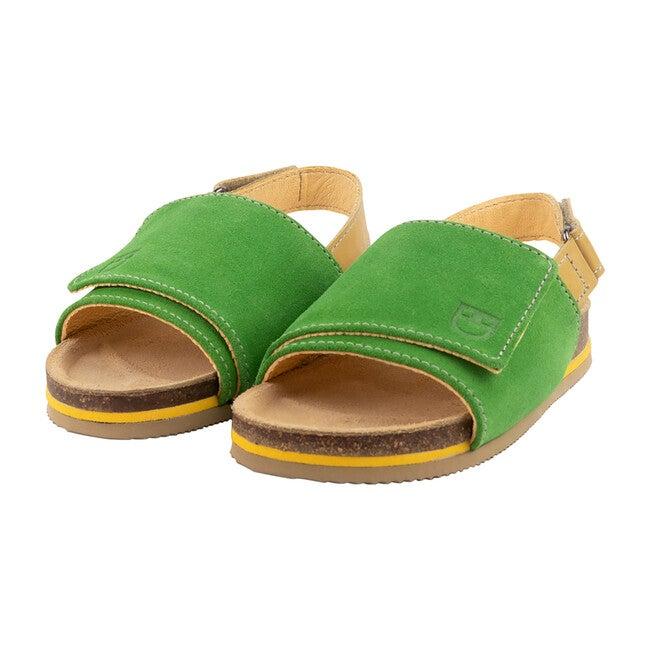 Green Slingback Sandal