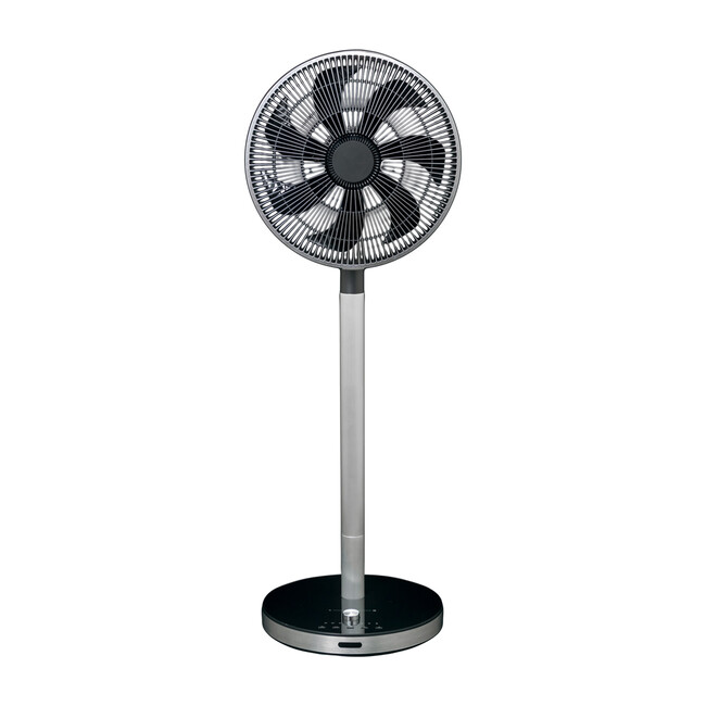 Flow by Objecto F5 Pedestal Fan, Black