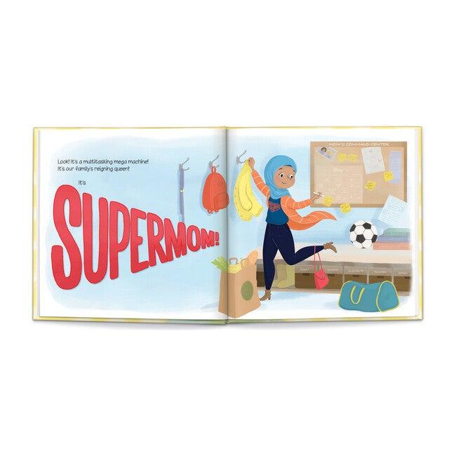 Super Mom, Medium Skin/Hijab