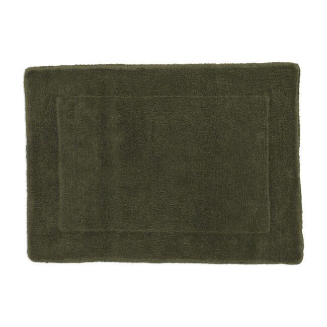 Simple Terry Bath Mat, Olive