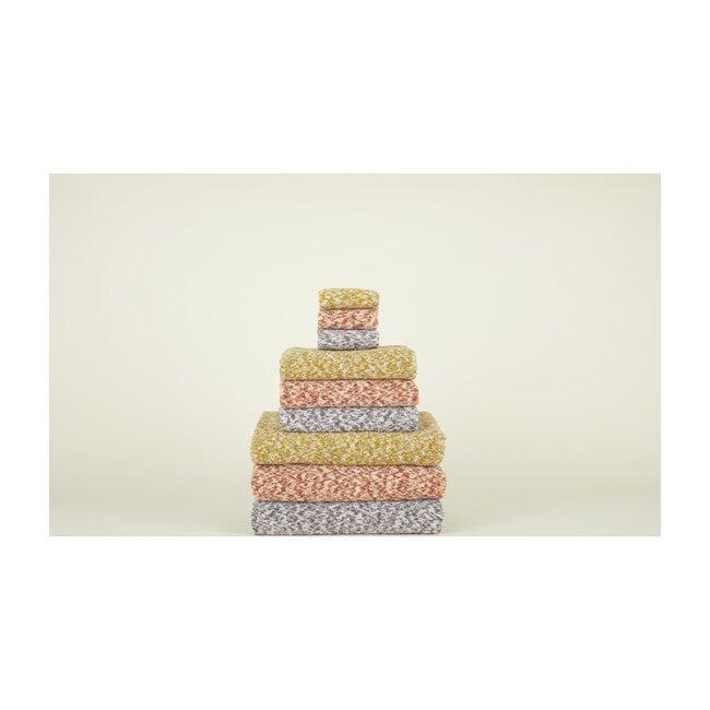 Space Dye Terry Bath Towel, Mustard