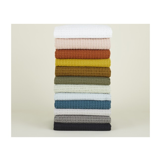 Simple Waffle Bath Towel, Terracotta
