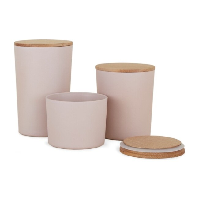 Essential Storage Container Set, Blush