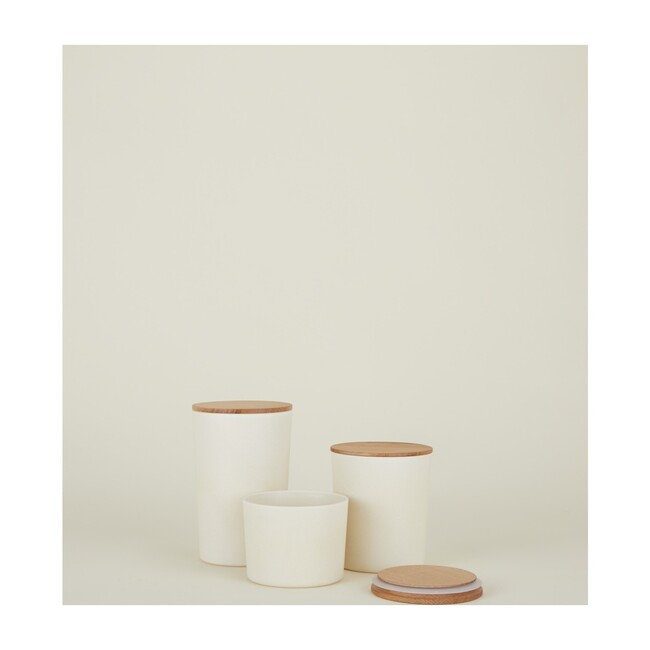 Essential Storage Container Set, Ivory