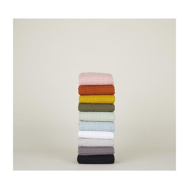 Simple Waffle Hand Towel, White