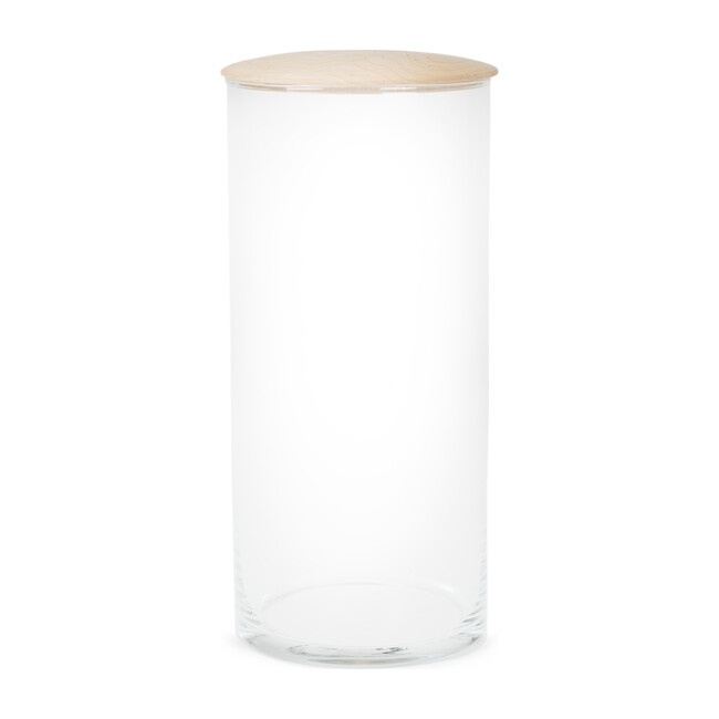 Simple Glass Storage Container, Large