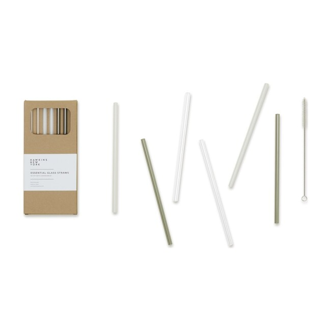 Essential Glass Straws, Neutral