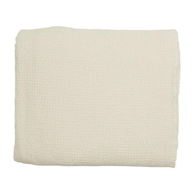 Waffle Cotton Lightweight Blanket, Petal