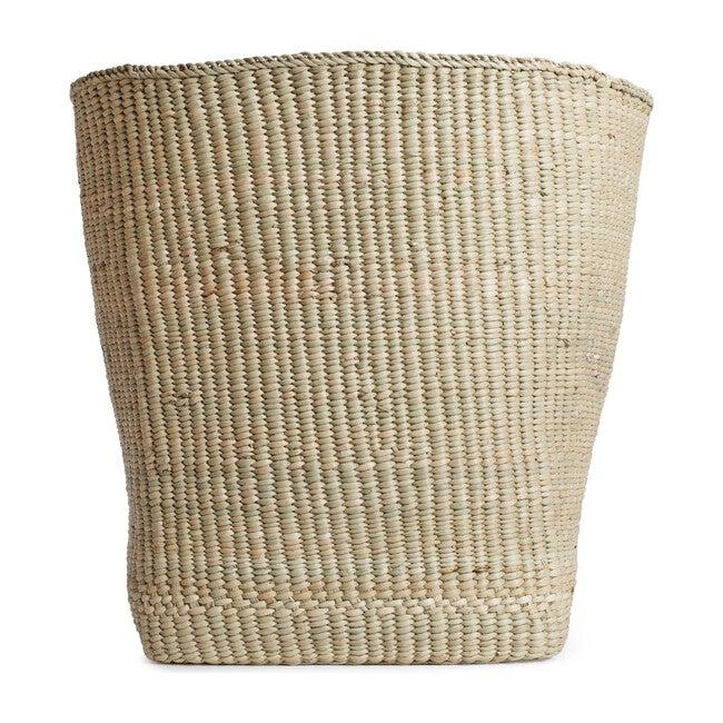 Woven Grass Tall Basket, Natural