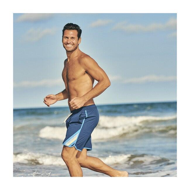 Men's Anchor Swim Trunk, Navy Hobie