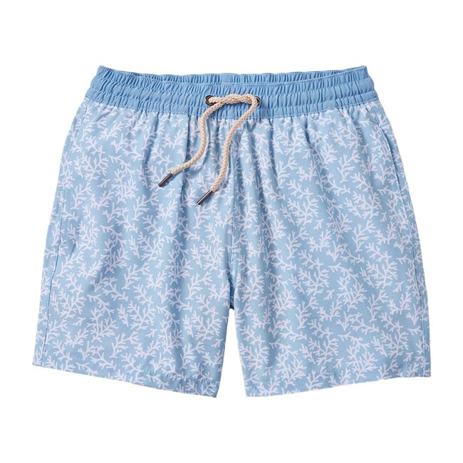 Kid's Bayberry Swim Trunk, Mist Seaweed