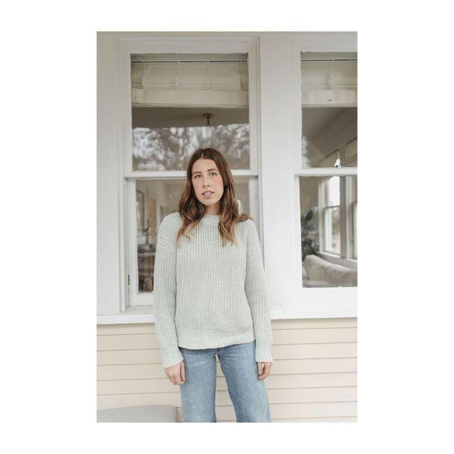 Women's Sweater,Pistachio