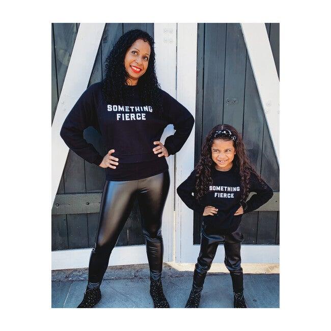 Something Fierce Women's Sweatshirt, Black