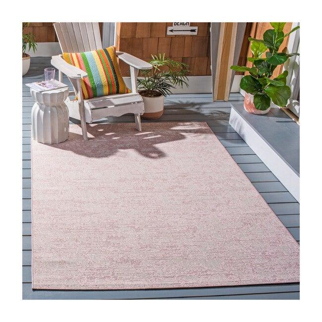 Courtyard Chloe Indoor/Outdoor Rug, Pink