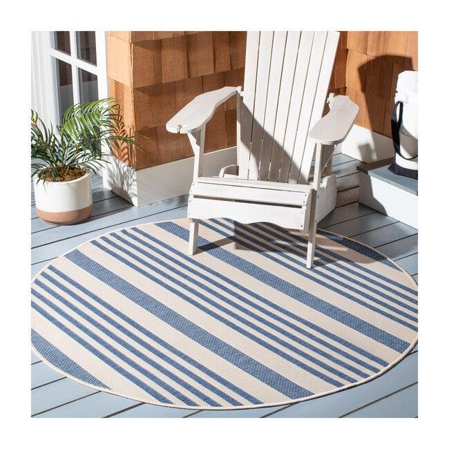 Courtyard Haley Indoor/Outdoor Rug, Blue
