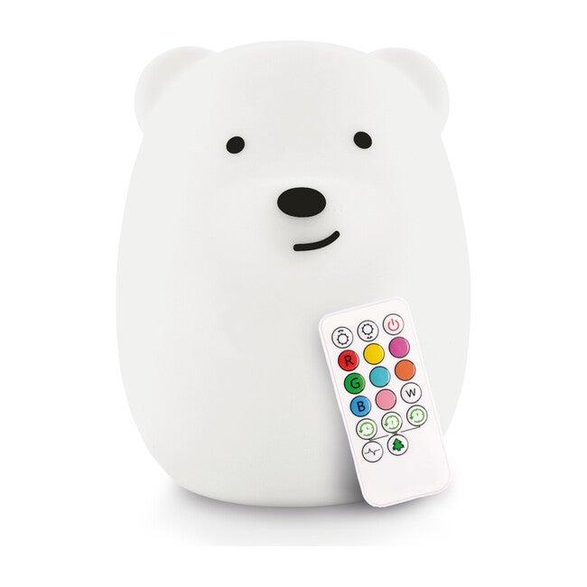 Bear Nightlight, White