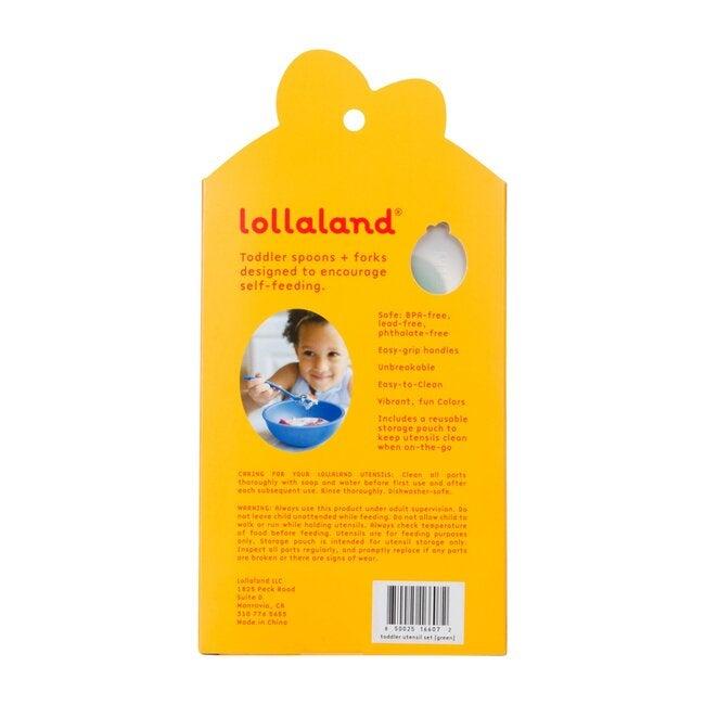 Lollaland 5-Piece Toddler Utensil Set, Pink