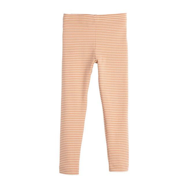 Reese Striped Legging, Apricot Stripe