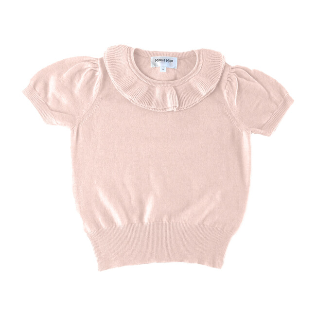 Collared Top, Pink