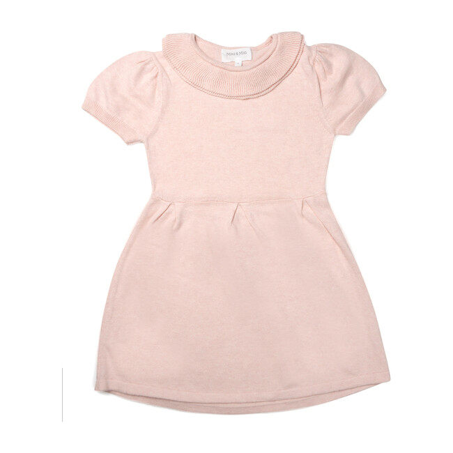 Collared Dress, Pink