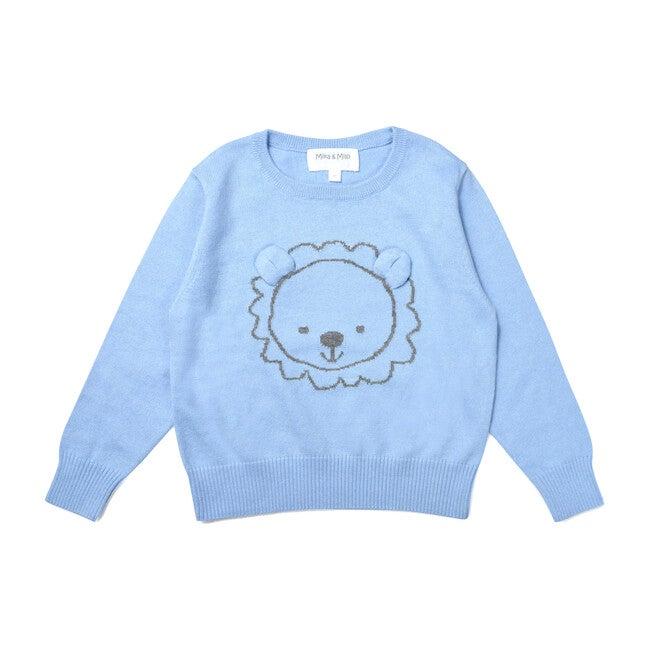 Lion Jumper, Blue