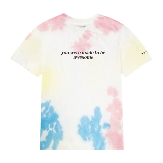 Made To Be Awesome T-shirt, Tie Dye - Tees - 0