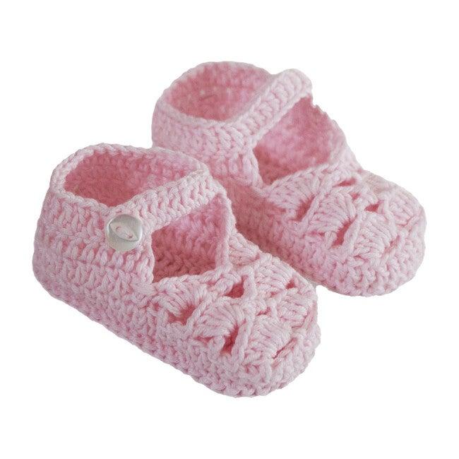 Sandal Knitties, Rose