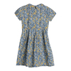 Emmalyn Short Sleeve Collared Dress, Blue Yellow Floral - Dresses - 2