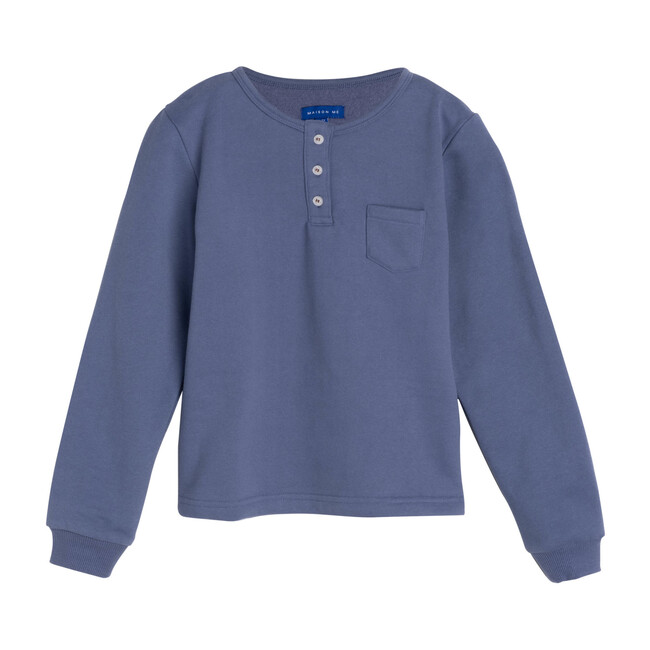 Rory Henley Shirt, Deep Dusty Blue